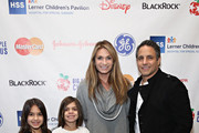 TV personality Heather Thomson, husband Jonathan Schindler and their children Ella Rae Schindler and Jax Schindler attend The Hospital for Special Surgery's 9th Annual Big Apple Circus Benefit on December 5, 2015 in New York City.