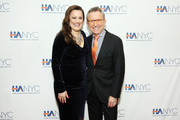 """Actress and singer Ashley Brownand honoree Thomas Schumacher, President at Disney Theatrical Group, attend the """"Red Carpet Hospitality Gala,"""" hosted by the Hotel Association Of New York City at JW Marriott Essex House on November 26, 2018 in New York City. (Photo by Monica Schipper/Getty Images for Hotel Association of New York City (HANYC))"""
