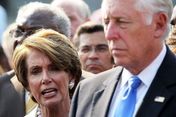 Steny Hoyer Xavier Becerra House Votes To Hold Holder In Contempt Over Fast And Furious Operation