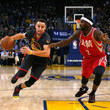 Ty Lawson and Stephen Curry Photos