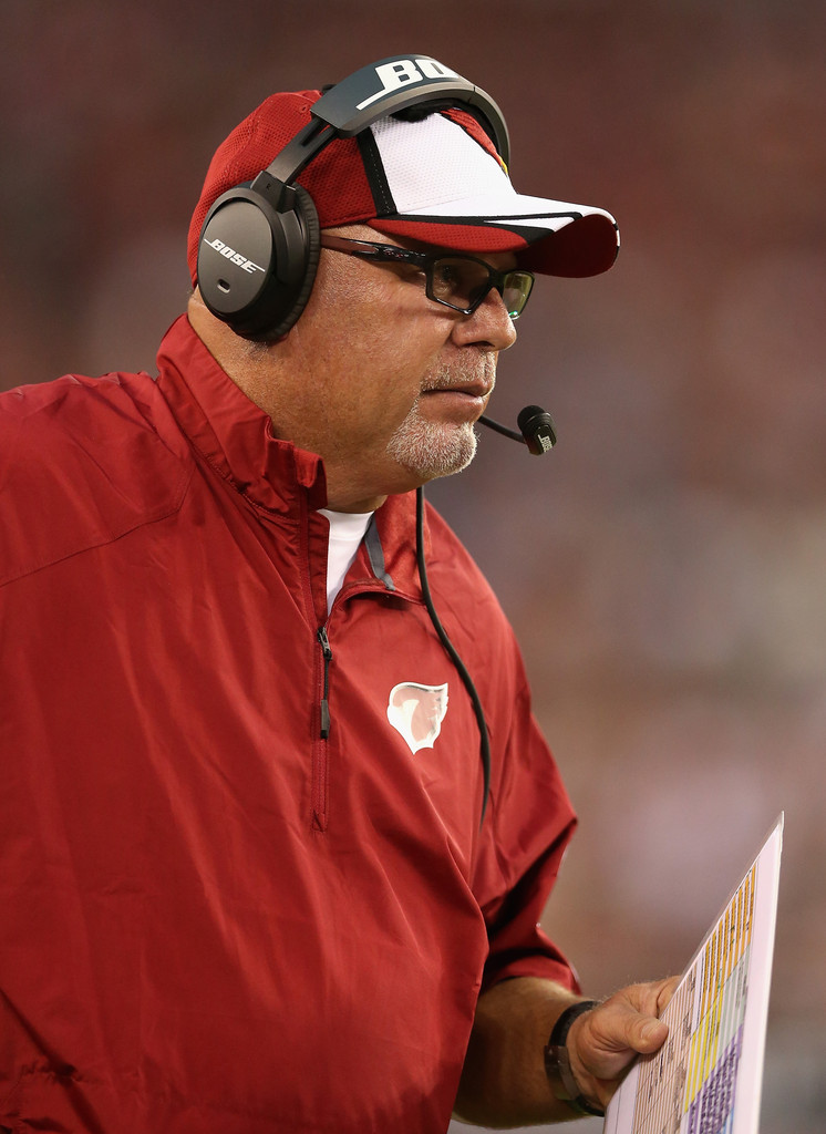 Bruce Arians Photos Photos - Houston Texans v Arizona ...