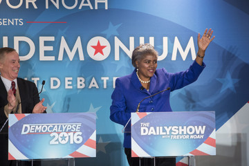 Howard Dean Comedy Central's 'The Daily Show With Trevor Noah' Presents Podium Pandemonium - A Debate About Debates, New Hampshire Primary 2016 Event & Post-Reception