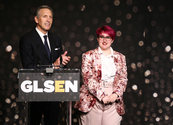 GLSEN Respect Awards – Los Angeles - Inside [performance,event,talent show,fashion,stage,performing arts,music artist,howard schultz,anais canepa,glsen respect awards,los angeles,beverly hills,california,beverly wilshire four seasons hotel,l]