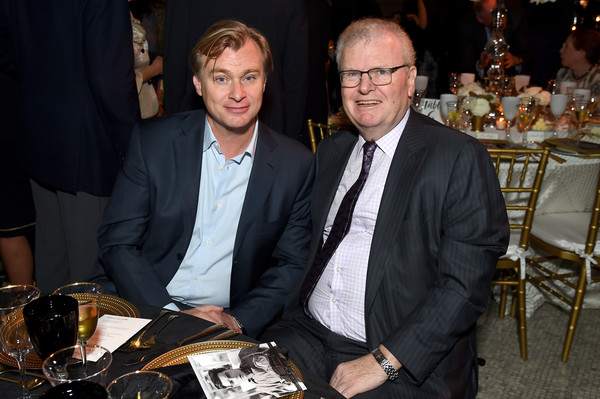 AFI 50th Anniversary Gala - Inside [event,businessperson,dinner,meal,suit,white-collar worker,the library of congress,washington dc,afi 50th anniversary gala - inside,christopher nolan,howard stringer]