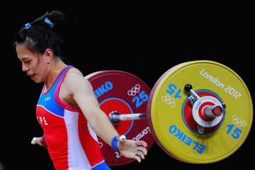 Hsing-Chun Kuo Olympics Day 3 - Weightlifting