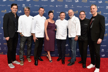 Hubert Keller Celebrity Chefs Light Up The Strip During Vegas Uncork'd By Bon Appetit's 10th Anniversary Grand Tasting At Caesars Palace
