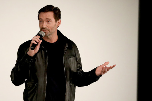 Hugh Jackman Hosts A Screening Of 'Ford v Ferrari' With Director James Mangold