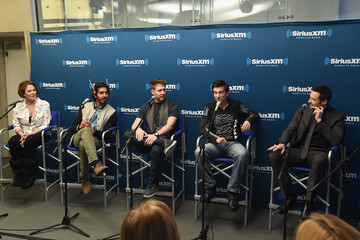 Hugh Jackman 'Chappie' Stars Drop by the SiriusXM Studios