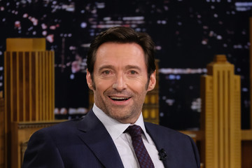 Hugh Jackman Hugh Jackman Visits 'The Tonight Show Starring Jimmy Fallon'