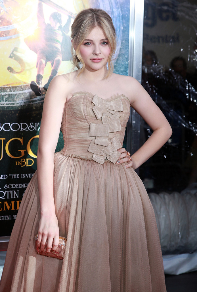 chloe grace moretz photos photos quothugoquot new york