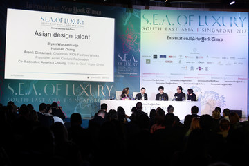 Huishan Zhang International New York Times Luxury Conference