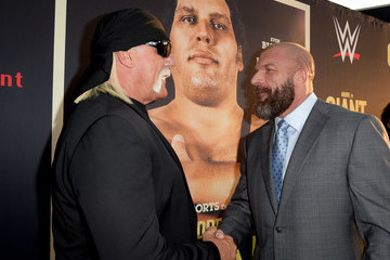 Hulk Hogan Premiere Of HBO's 'Andre The Giant' - Red Carpet