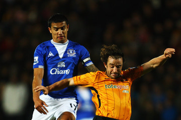 Tim Cahill Hull City v Everton - Premier League