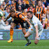 Nikica Jelevic Photos - Nikica Jelevic of Hull City and Phil Jones of Manchester United compete for the ball competeduring the Barclays Premier League match between Hull City and Manchester United at KC Stadium on May 24, 2015 in Hull, England. - Hull City v Manchester United - Premier League