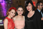 """(L-R) AnnaSophia Robb, Joey King and Michelle Dean attend Hulu's """"The Act"""" New York Premiere at The Whitby Hotel on March 14, 2019 in New York City."""