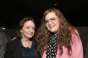 """(L-R) Rachel Dratch and Aidy Bryant attend Hulu's """"Shrill"""" New York Premiere at Film Society of Lincoln Center - Walter Reade Theater on March 13, 2019 in New York City."""