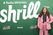 """Aidy Bryant attends Hulu's """"Shrill"""" New York Premiere at Film Society of Lincoln Center - Walter Reade Theater on March 13, 2019 in New York City."""