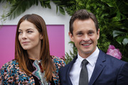 Actress Michelle Monaghan and Actor Hugh Dancy attend the Hulu Upfront Brunch at La Sirena Ristorante on May 3, 2017 in New York City. / AFP PHOTO / KENA BETANCUR