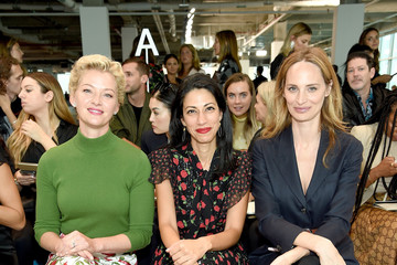 Huma Abedin Michael Kors Collection Spring 2019 Runway Show - Front Row