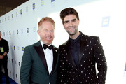 Jesse Tyler Ferguson (L) and Justin Mikita attends The Human Rights Campaign 2019 Los Angeles Gala Dinner at JW Marriott Los Angeles at L.A. LIVE on March 30, 2019 in Los Angeles, California.