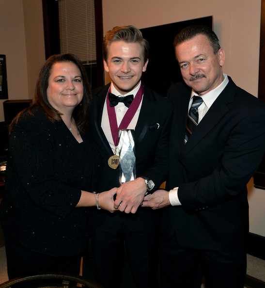 Photo of Hunter Hayes & his  Father  Leo Hayes