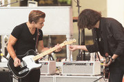 """Musician Hunter Hayes (L) performs on NBC's """"Today"""" at the NBC's TODAY Show on August 22, 2014 in New York City."""
