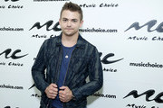(EXCLUSIVE COVERAGE) Hunter Hayes visits  Music Choice on August 16, 2019 in New York City.