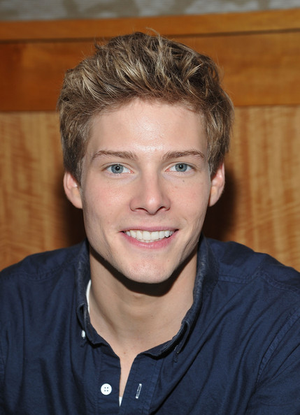 "Hunter Parrish Actor Hunter Parrish promotes Broadway's cast recording of ""Godspell"" at Barnes & Noble, 86th & Lexington on January 31, 2012 in New York, United States."