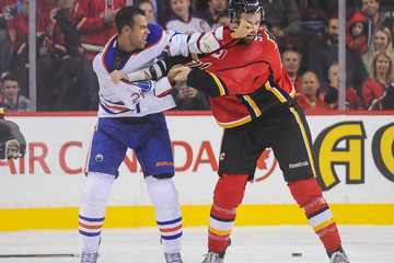 Hunter Smith Calgary Flames v Edmonton Oilers