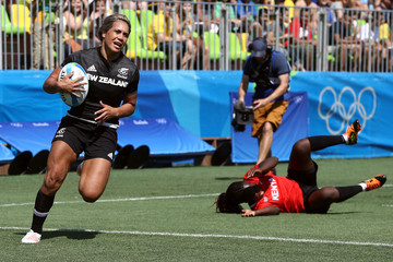 Huriana Manuel Rugby - Olympics: Day 1