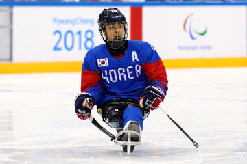 Hwan Seung Jung 2018 Paralympic Winter Games - Day 2