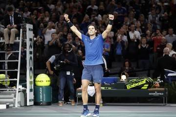 Hyeon Chung Rolex Paris Masters - Day Seven