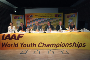 Pierre Weiss IAAF Press Conference  - World Youth Championships Preview