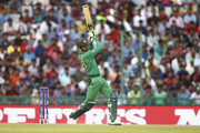 Shoaib Malik of Pakistan bats during the ICC WT20 India Group 2 match between Pakistan and Australia at I.S. Bindra Stadium on March 25, 2016 in Mohali, India.