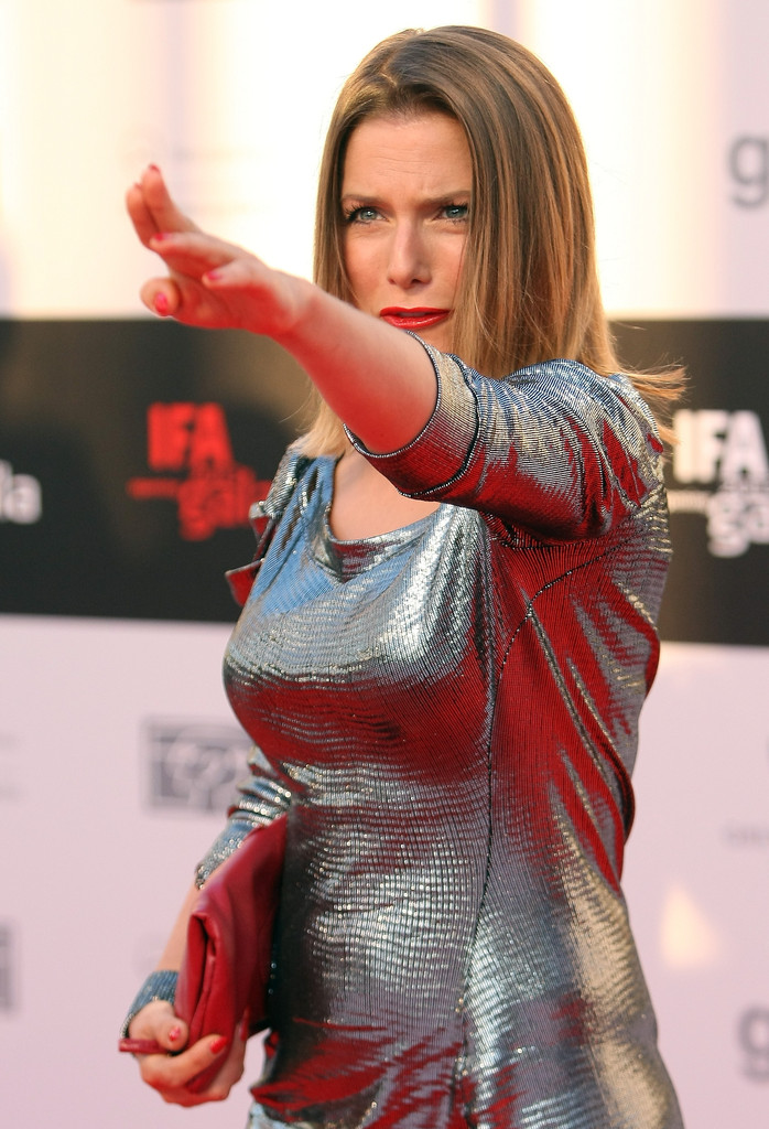 Jeanette Biedermann In Arrivals At IFA's Opening Night