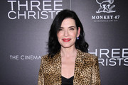 "Julianna Margulies attends a screening of ""Three Christs"" hosted by IFC and the Cinema Society at Regal Essex Crossing on January 09, 2020 in New York City."