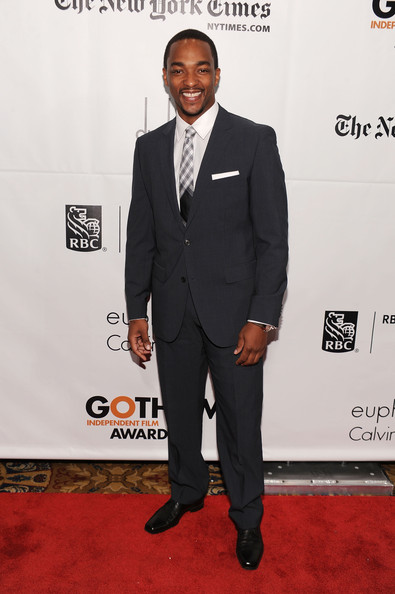 Actor Anthony Mackie attends IFP's 20th Annual Gotham Independent Film Awards at Cipriani, Wall Street on November 29, 2010 in New York City.
