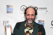 Director Luca Guadagnino poses backstage during IFP's 27th Annual Gotham Independent Film Awards on November 27, 2017 in New York City.
