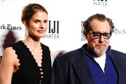 Louise Kugelberg and Julian Schnabel attend IFP's 27th Annual Gotham Independent Film Awards at Cipriani, Wall Street on November 26, 2018 in New York City.