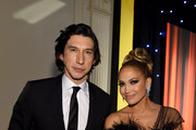 Adam Driver and Jennifer Lopez attend the IFP's 29th Annual Gotham Independent Film Awards at Cipriani Wall Street on December 02, 2019 in New York City.