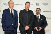 Executive Director of IFP and the Made in New York Media Center by IFP Jeff Sharp, Edward Burns and Glen Basner attend the IFP's 29th Annual Gotham Independent Film Awards at Cipriani Wall Street on December 02, 2019 in New York City.