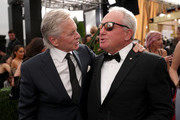 Michael Douglas and Lorne Michaels attend IMDb LIVE After the Emmys Presented by CBS All Access on September 22, 2019 in Los Angeles, California.