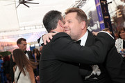 Jimmy Kimmel and James Corden attend IMDb LIVE After the Emmys Presented by CBS All Access on September 22, 2019 in Los Angeles, California.