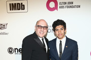 Willie Garson and Nathen Garson attend IMDb LIVE At The Elton John AIDS Foundation Academy Awards® Viewing Party on February 24, 2019 in Los Angeles, California.