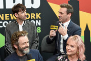 David Tennant and Jon Hamm Photos Photo