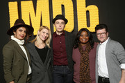 (L-R) Priyanka Chopra, Claire Danes, Jim Parsons, Octavia Spencer and Silas Howard of 'A Kid Like Jake' attend The IMDb Studio and The IMDb Show on Location at The Sundance Film Festival on January 21, 2018 in Park City, Utah.