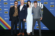 Michael Malarkey, Neal McDonough, Laura Mennell and Aidan Gillen attend the #IMDboat At San Diego Comic-Con 2018: Day Three at The IMDb Yacht on July 21, 2018 in San Diego, California.