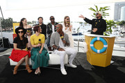 Katie McGrath, Nicole Maines, Chyler Leigh, Jesse Rath, David Harewood, Mehcad Brooks,  Melissa Benoist and Kevin Smith attend the #IMDboat At San Diego Comic-Con 2018: Day Three at The IMDb Yacht on July 21, 2018 in San Diego, California.