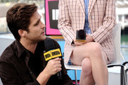 Diego Boneta speaks onstage at the #IMDboat at San Diego Comic-Con 2019: Day One at The IMDb Yacht on July 18, 2019 in San Diego, California.