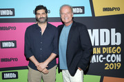 Frank Lesser and Kelsey Grammer attend the #IMDboat at San Diego Comic-Con 2019: Day Three at the IMDb Yacht on July 20, 2019 in San Diego, California.